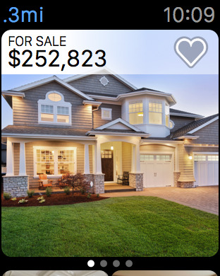. Real Estate by Zillow Apple Watch App   Watchaware