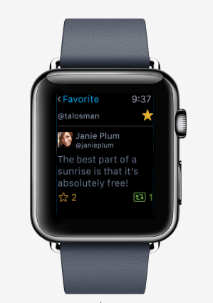 Here Are the Top Twitter Clients for Apple Watch