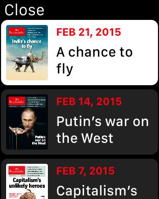 The Economist   Watchaware