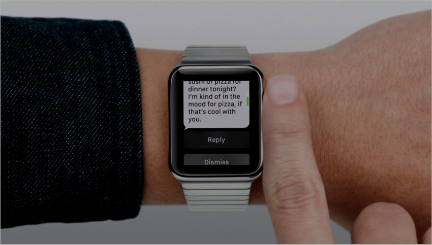 Apple Watch Can Send And Receive Messages Without iPhone