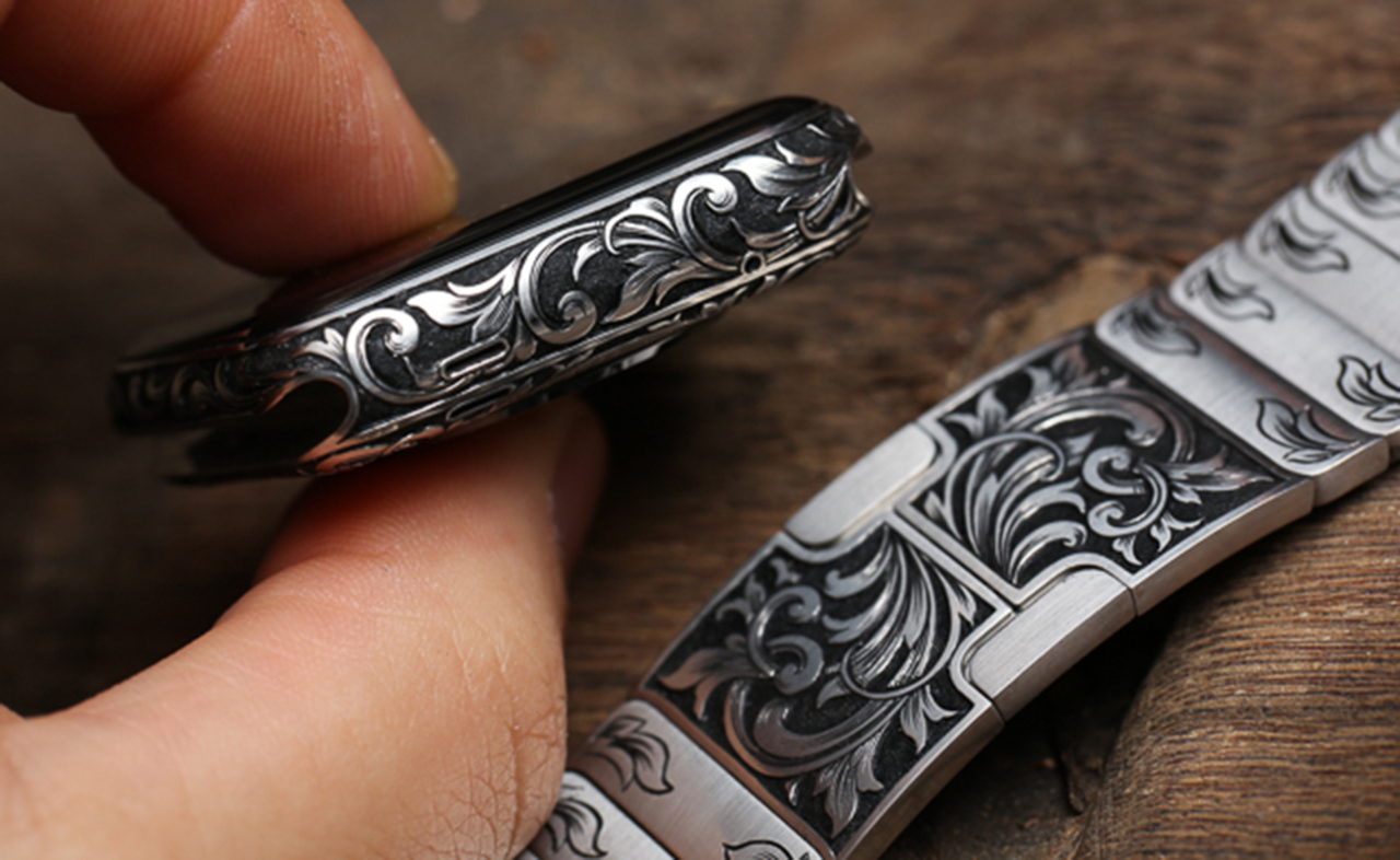 Check Out This Crazy Custom Engraved Apple Watch