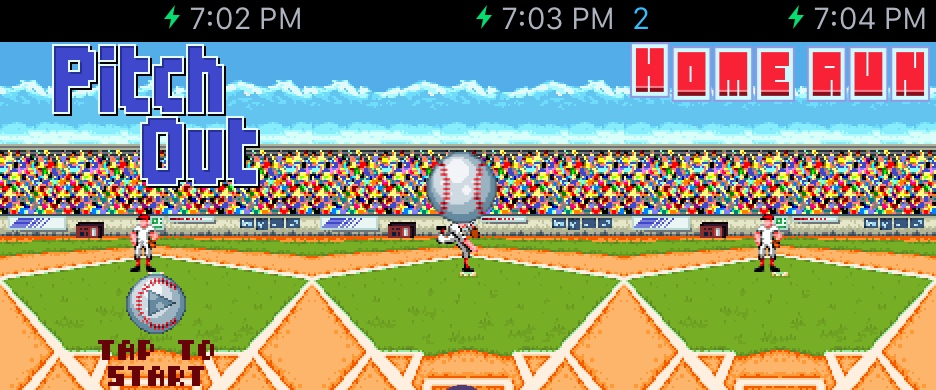 """Pitch Out"" Shows Hope For Gaming On Apple Watch"