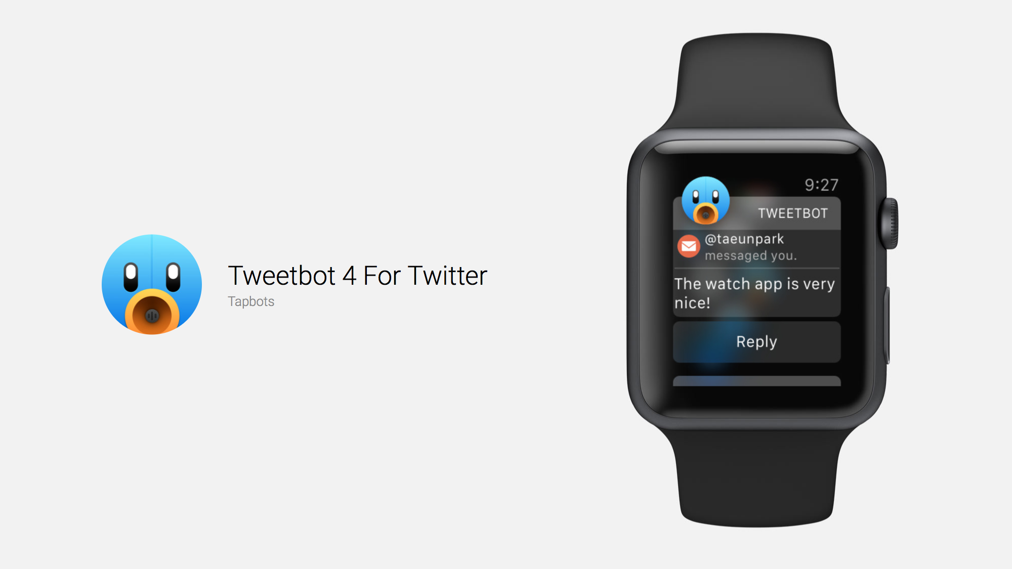 Tweetbot 4.1 for iOS Brings The Best Twitter Client to Apple Watch