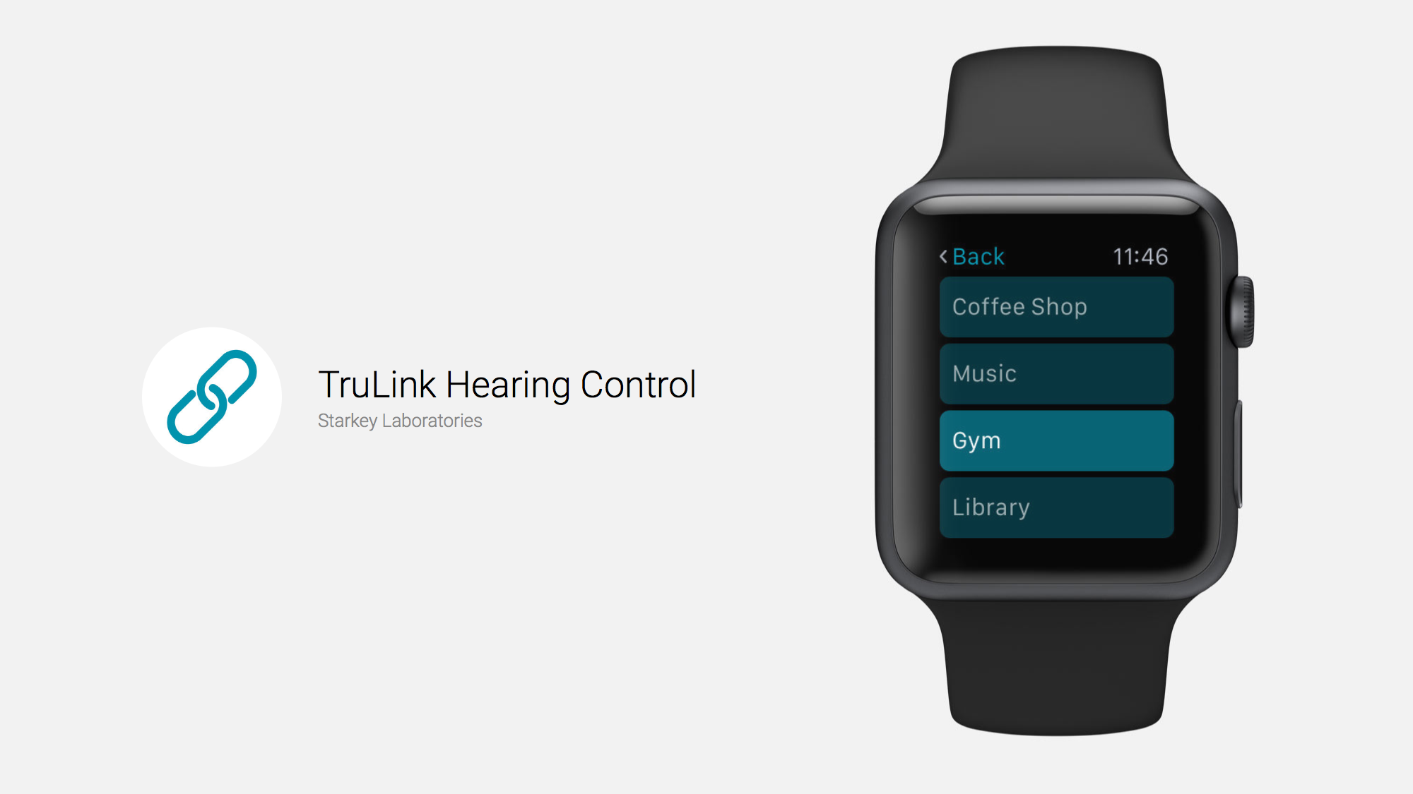 TruLink Connects Hearing Aid Wirelessly to Apple Watch