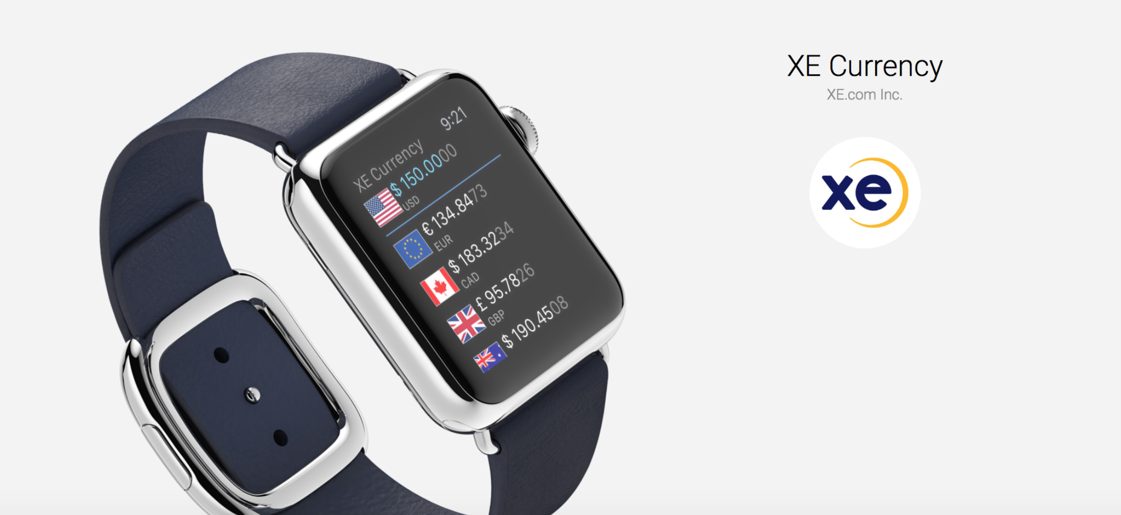 Xe Currency Is The Only Converter You Need On Your Le Watch