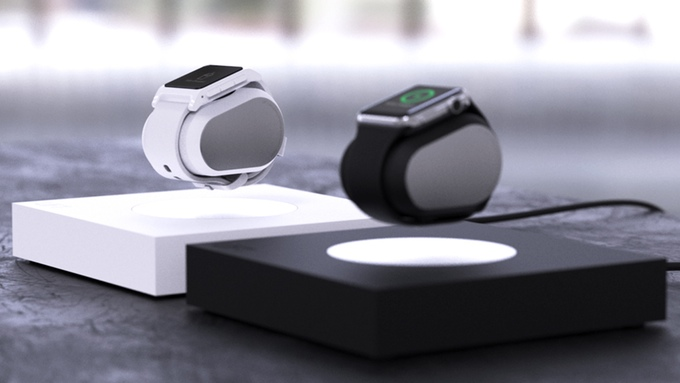 LIFT is an Anti-Gravity Levitating Smartwatch Charger