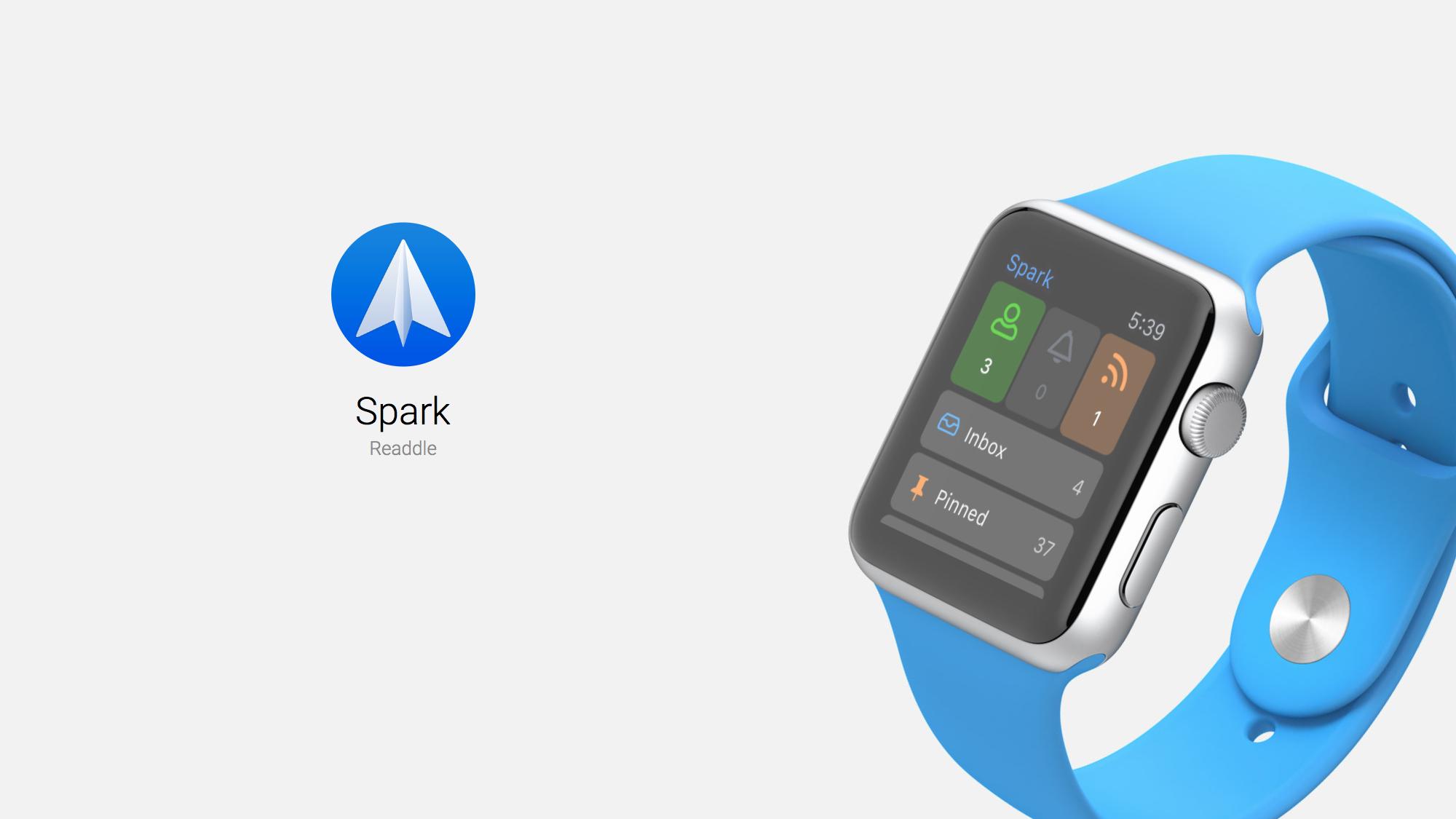 spark apple watch app