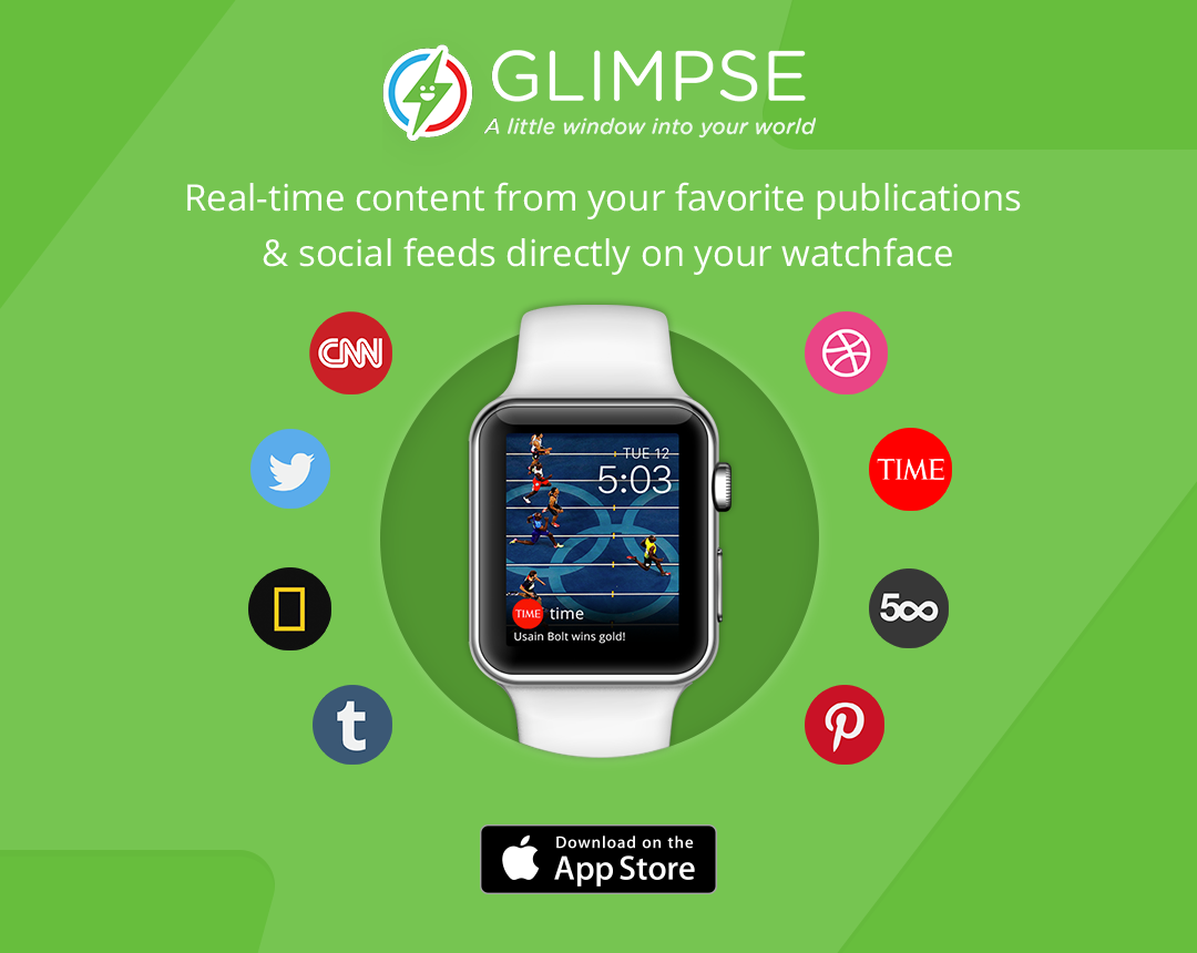 Glimpse Real-Time Content on your Apple Watch Face