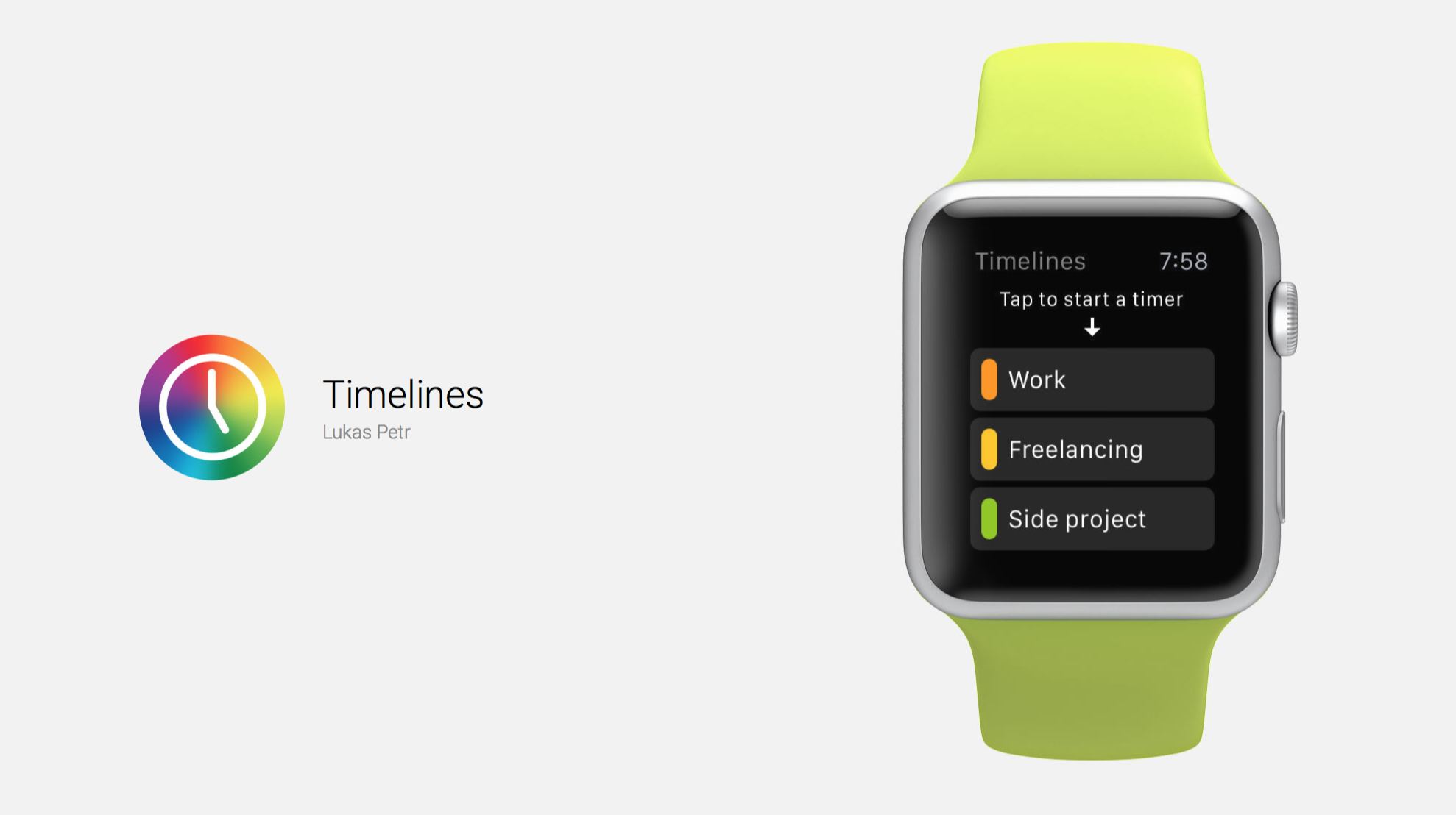 Track Your Time With Timelines on Your Apple Watch