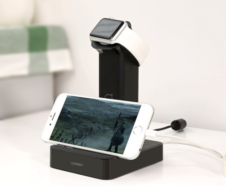 Ugreen Charging Dock for Apple Watch Plus Two iOS Devices is MFi Certified