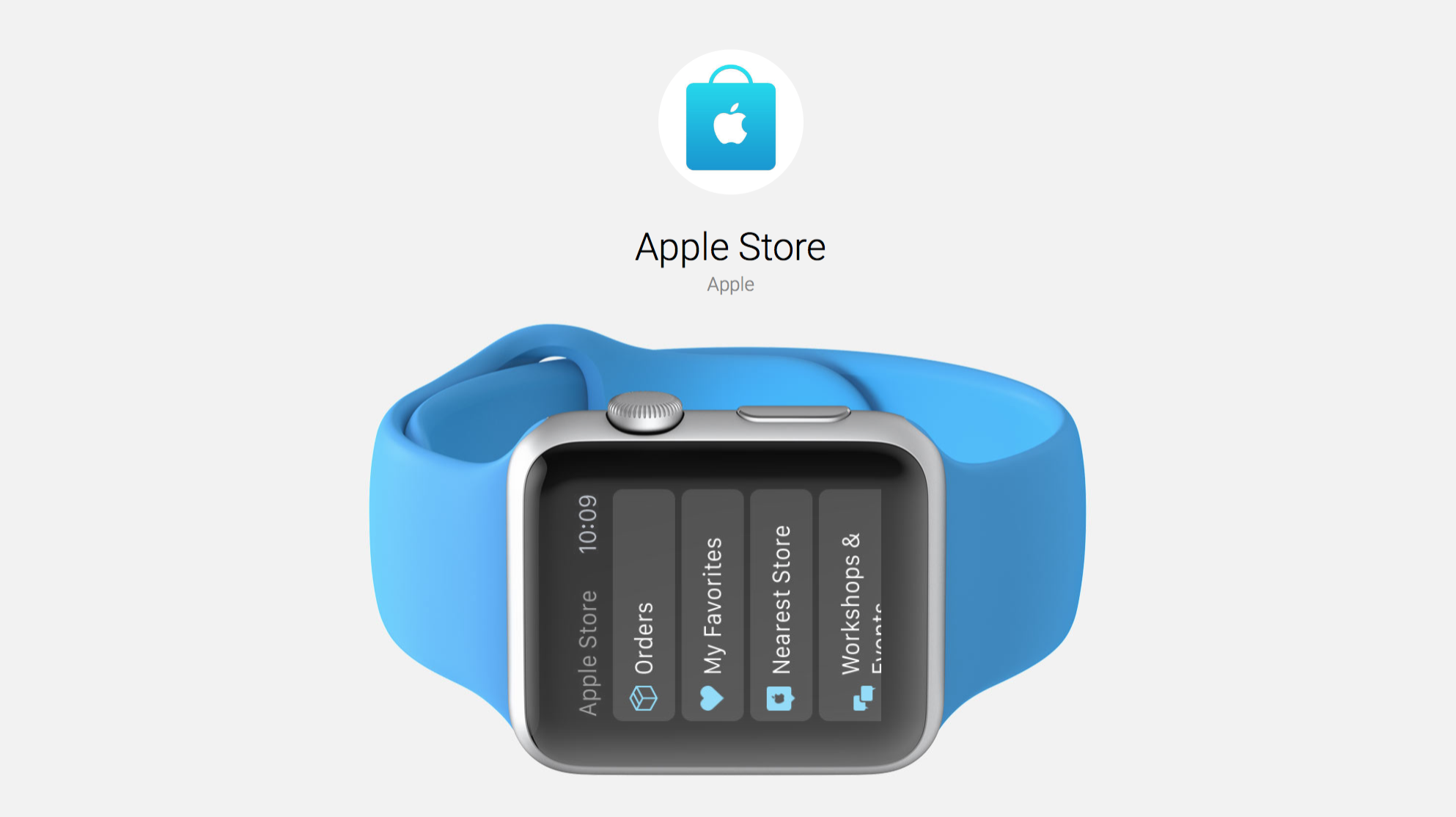 Apple Store App Updated for Easy Apple Watch Use