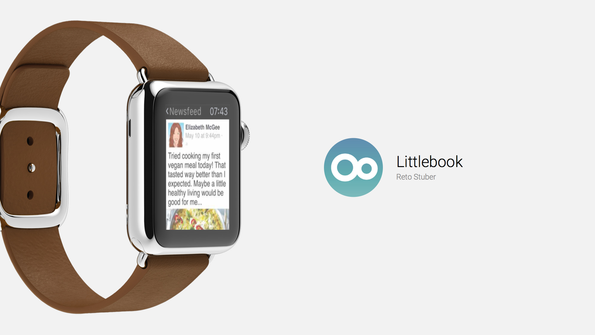 Littlebook is the Facebook Apple Watch App You'll Want