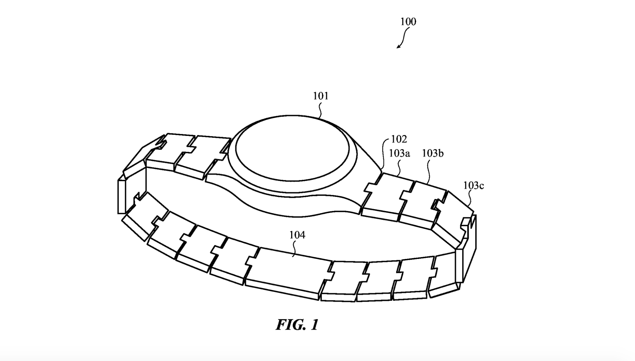 Functional Band Links Shown in New Apple Patent