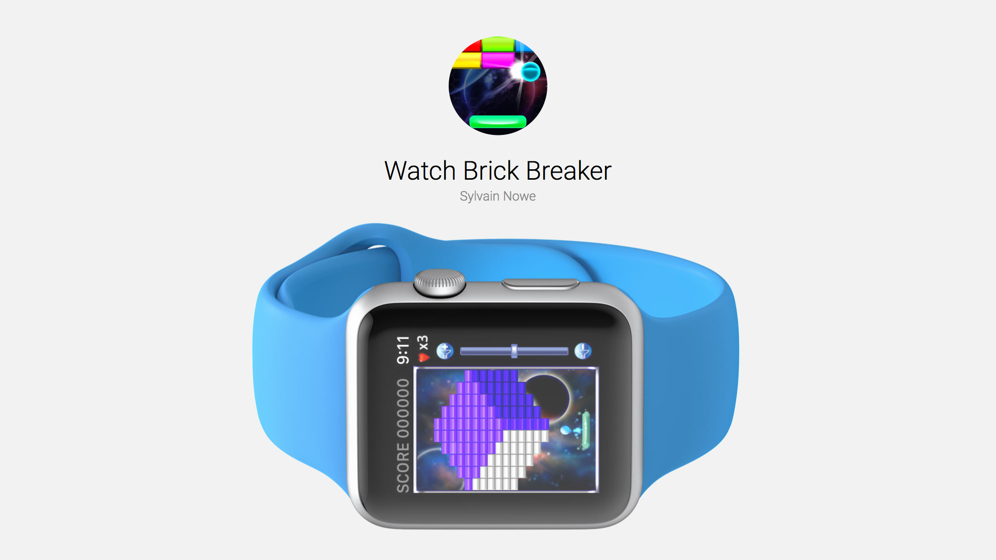 Watch Brick Breaker is a Simple Apple Watch Game