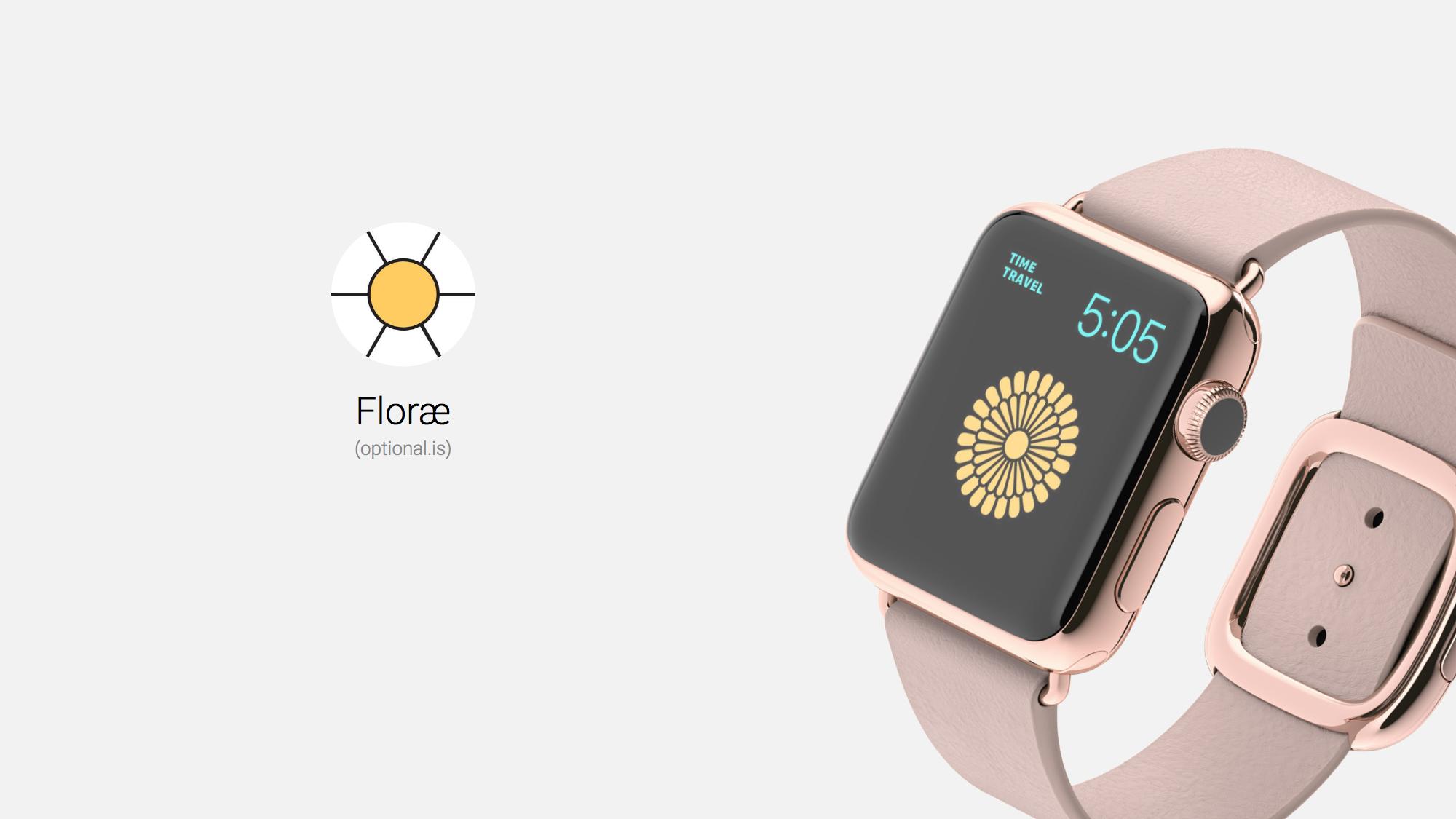 Floræ - Linnaeus' Flower Clock Beautifies Your Watch Face