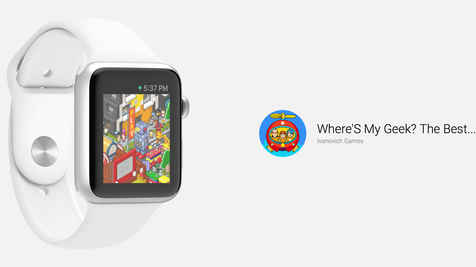 Where's My Geek? Hidden Object Game on Apple Watch