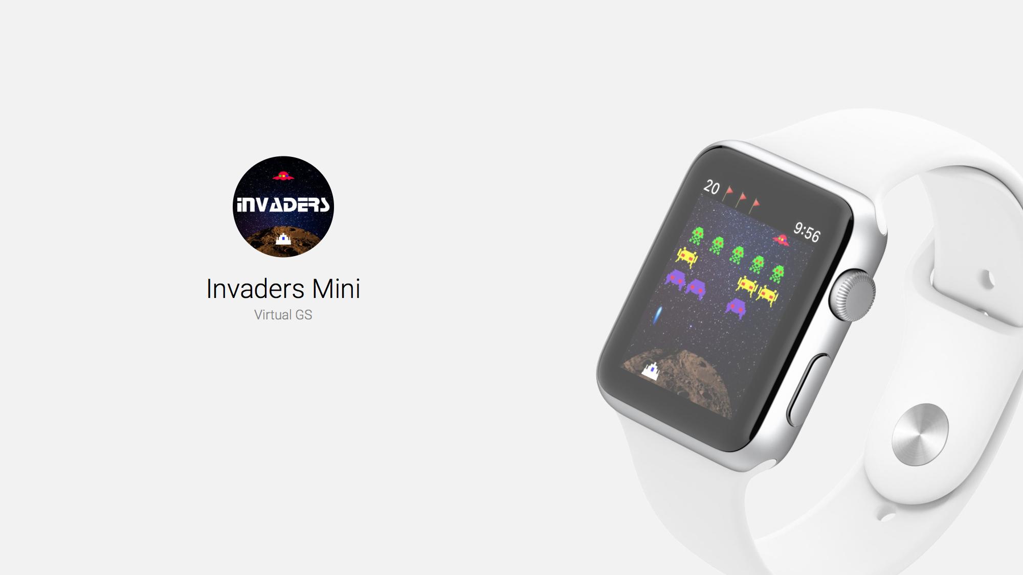 Invaders Mini Recalls Classic Arcade Game Space Invaders