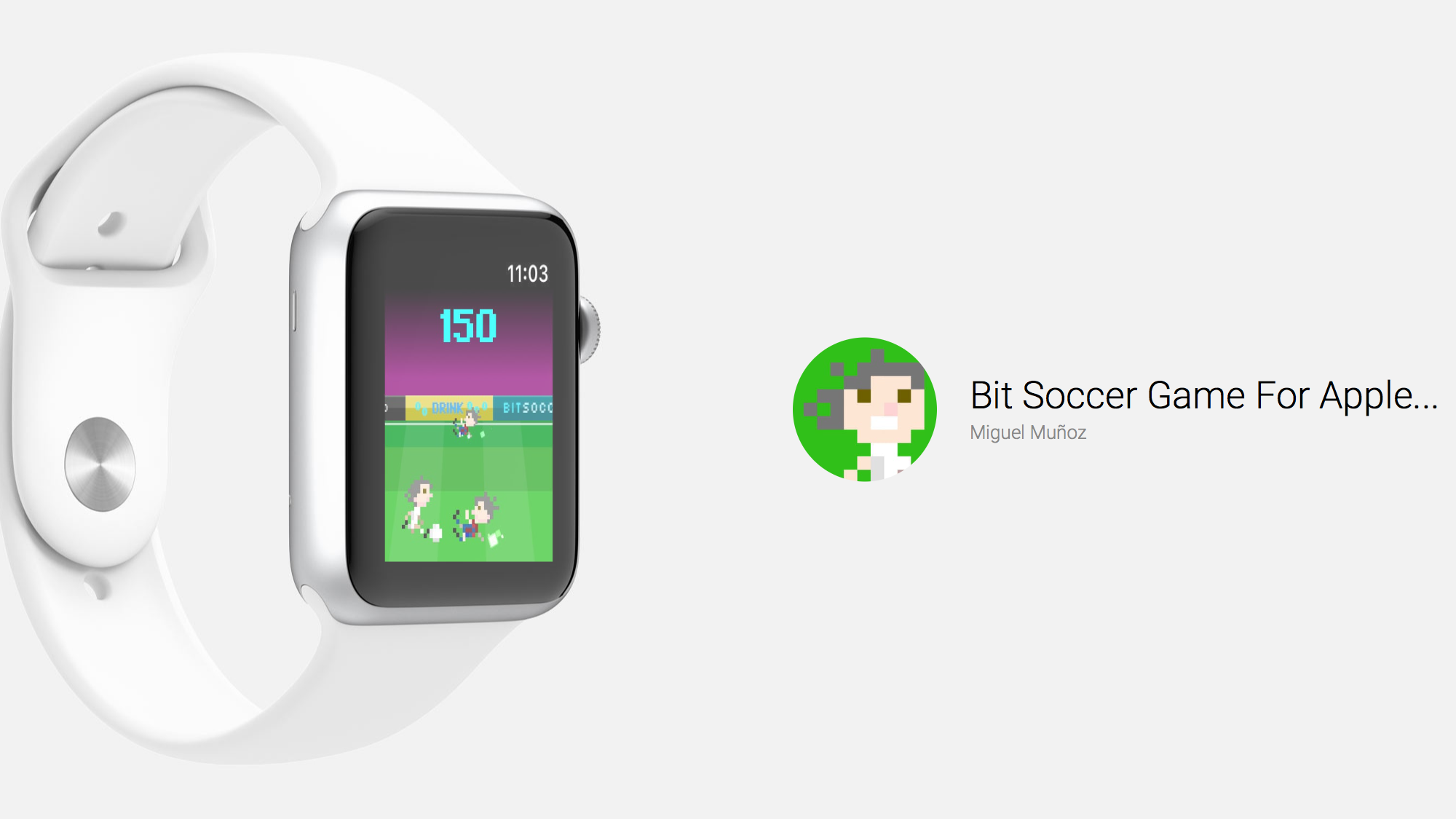 Bit Soccer Brings 8-Bit Action to the Apple Watch