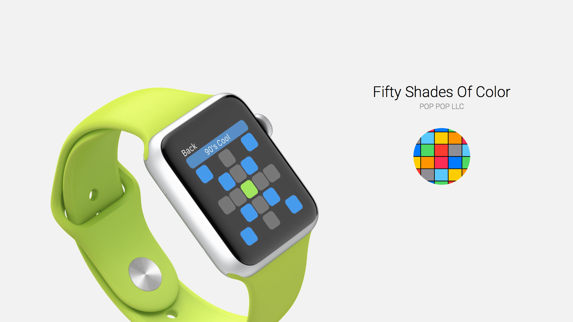 Fifty Shades of Color is a Colorful Puzzle