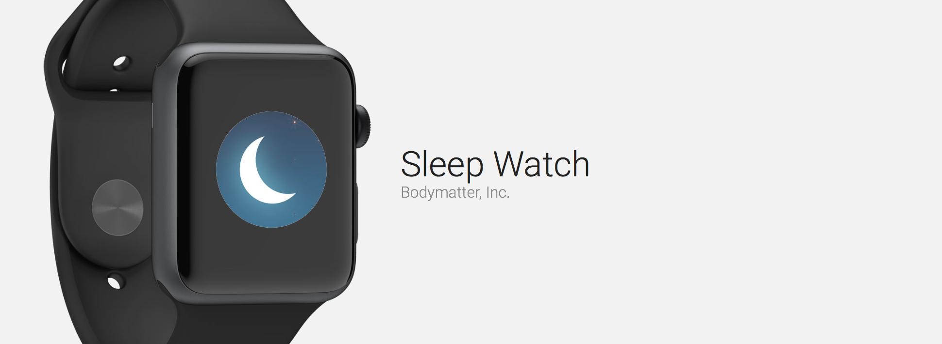 Sleep Watch Automatically Tracks Your Sleep