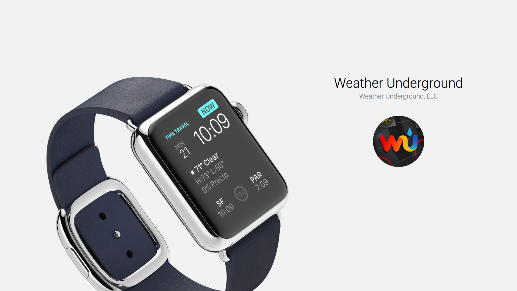 Weather Underground: Great Free Weather App and Complication