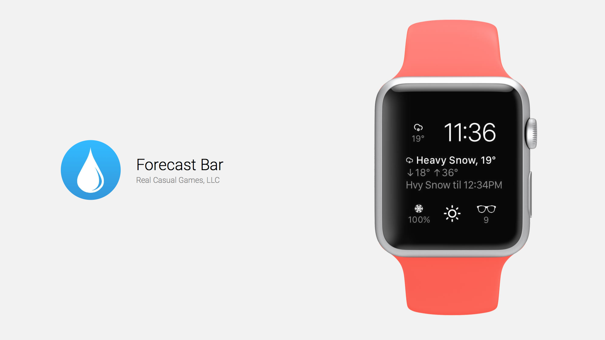 Forecast Bar is a Fantastic Weather App for Apple Watch