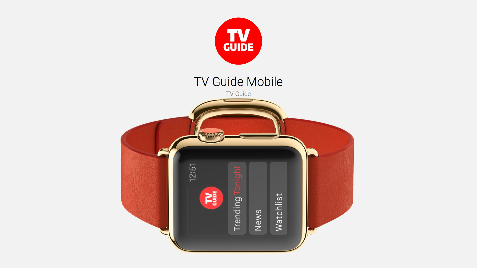 TV Guide Mobile is the TV Companion for Your Wrist