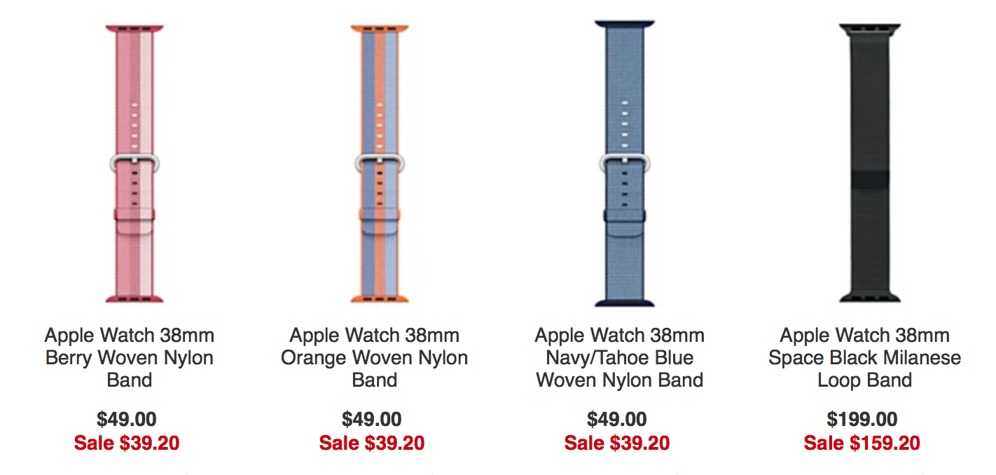 Macy's Sale Has Apple Watch Bands 20 Percent Off