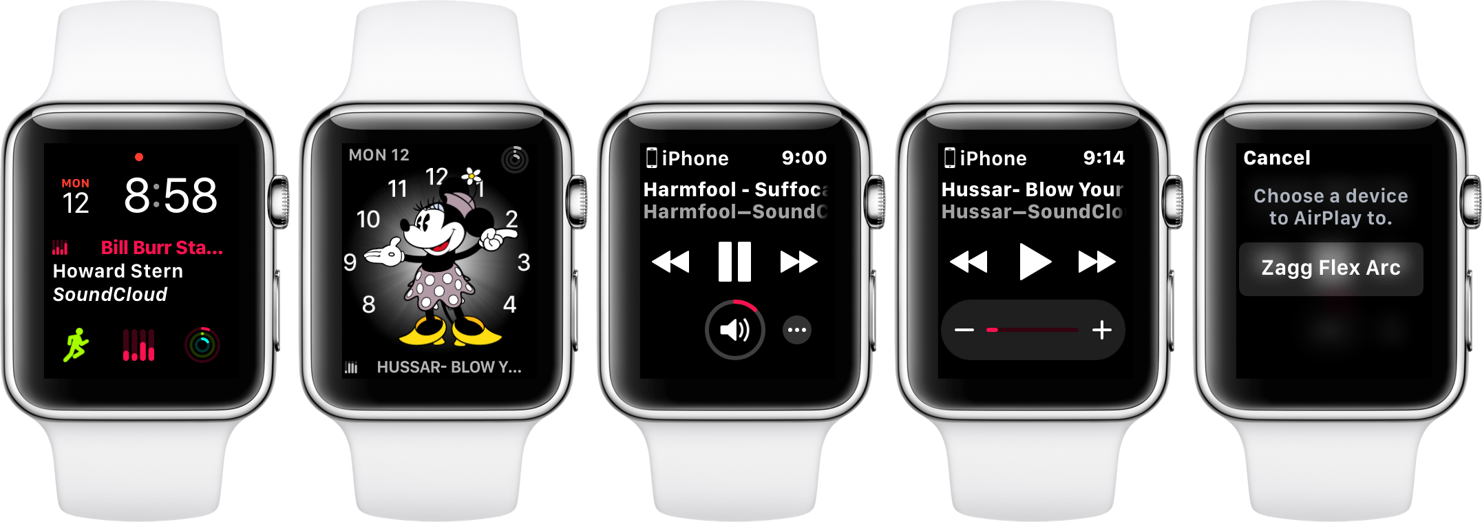 Now Playing Complication Arriving in watchOS 4