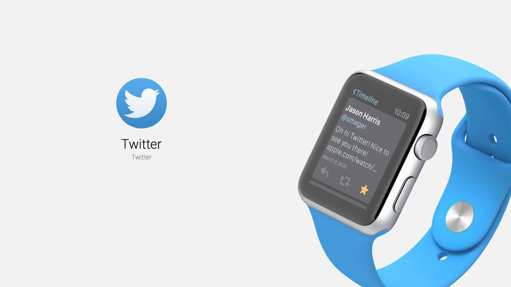 Twitter Brings the Social Media Giant to Your Wrist