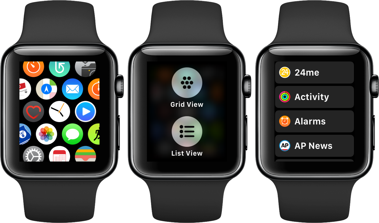 Get Rid of the Home Screen Honeycomb App Cloud in watchOS 4