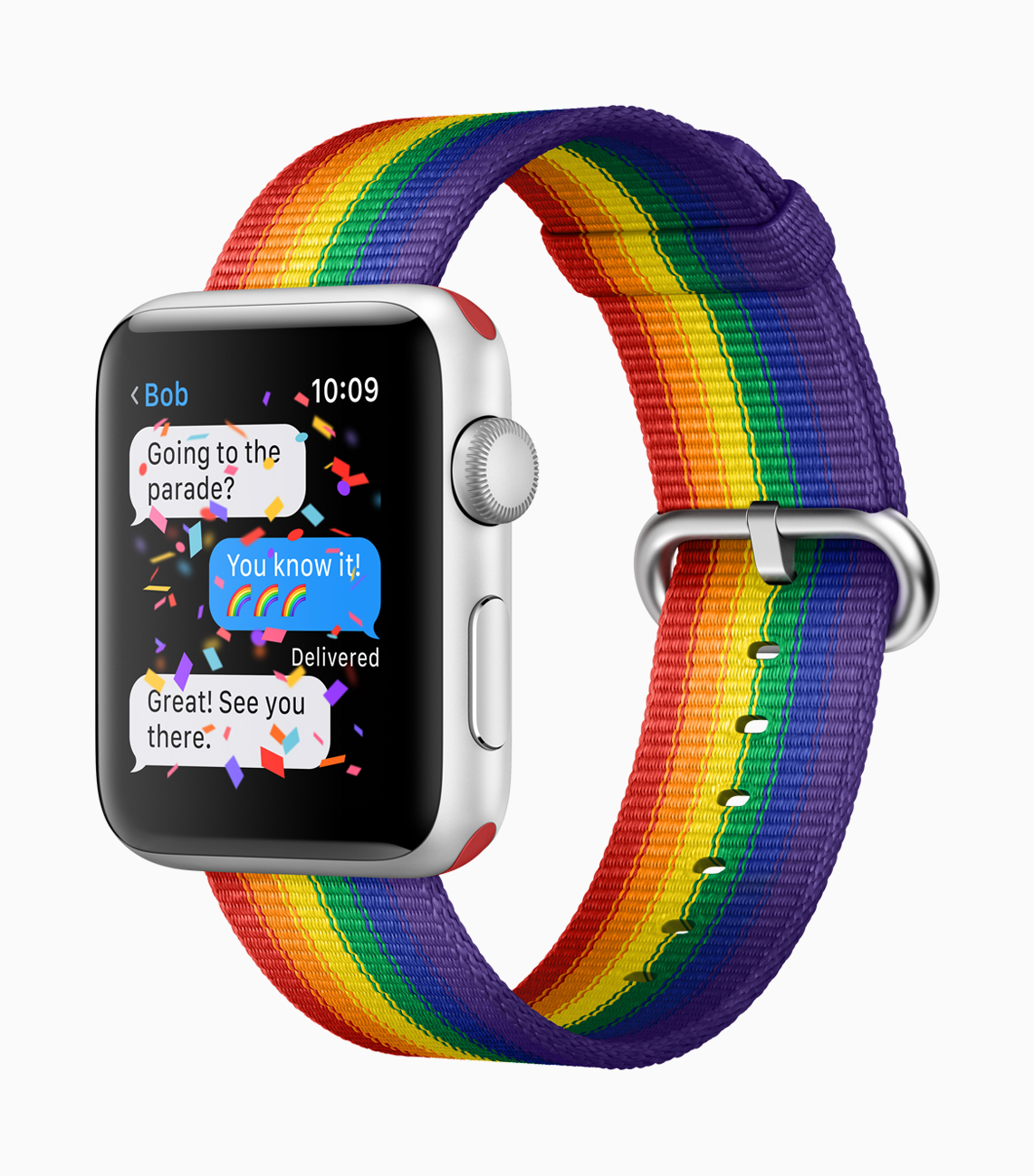 New Apple Watch Bands Including Pride Band Available Now for Summer