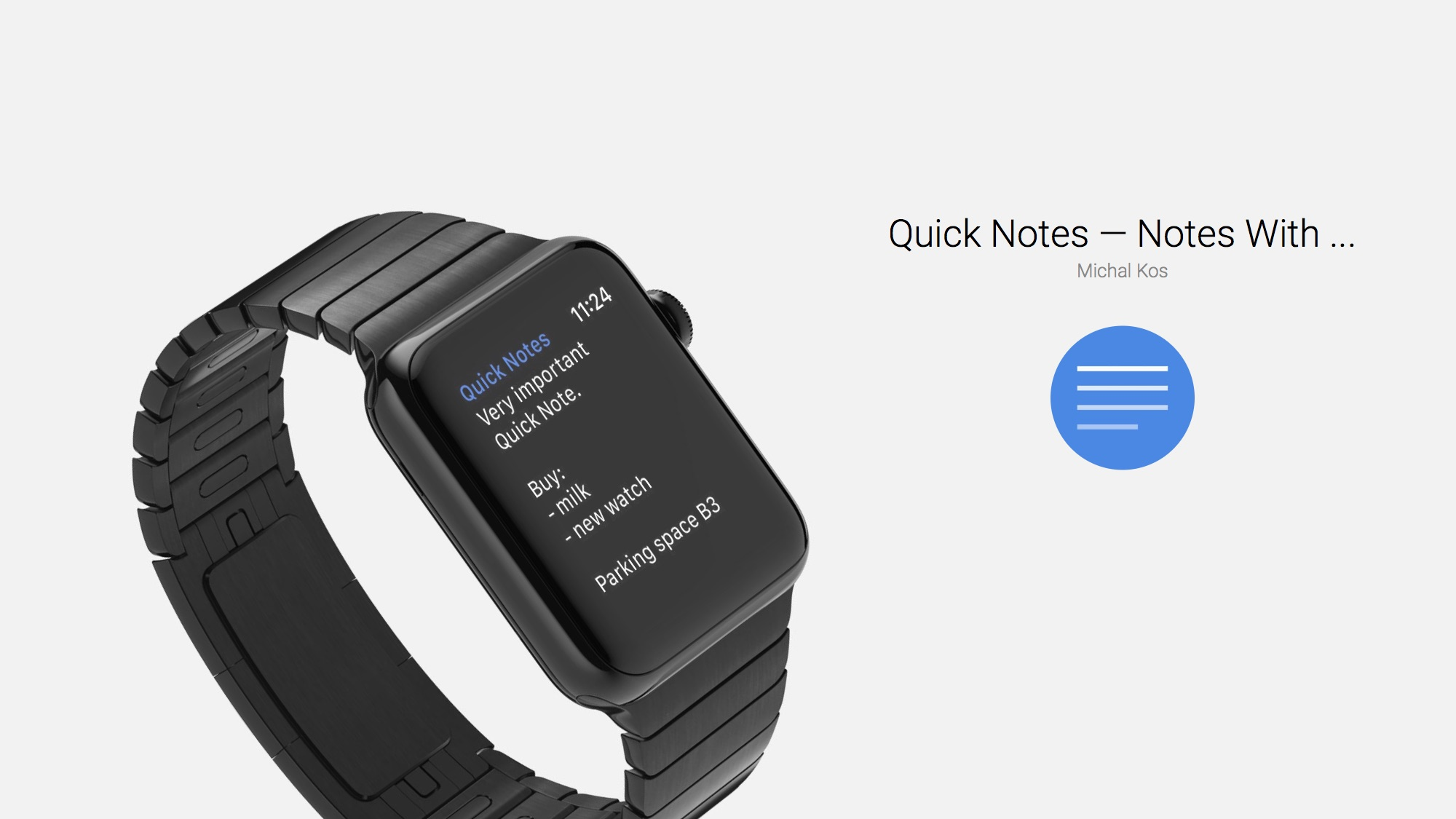 Dictating Notes on Apple Watch Is Easy With Quick Notes