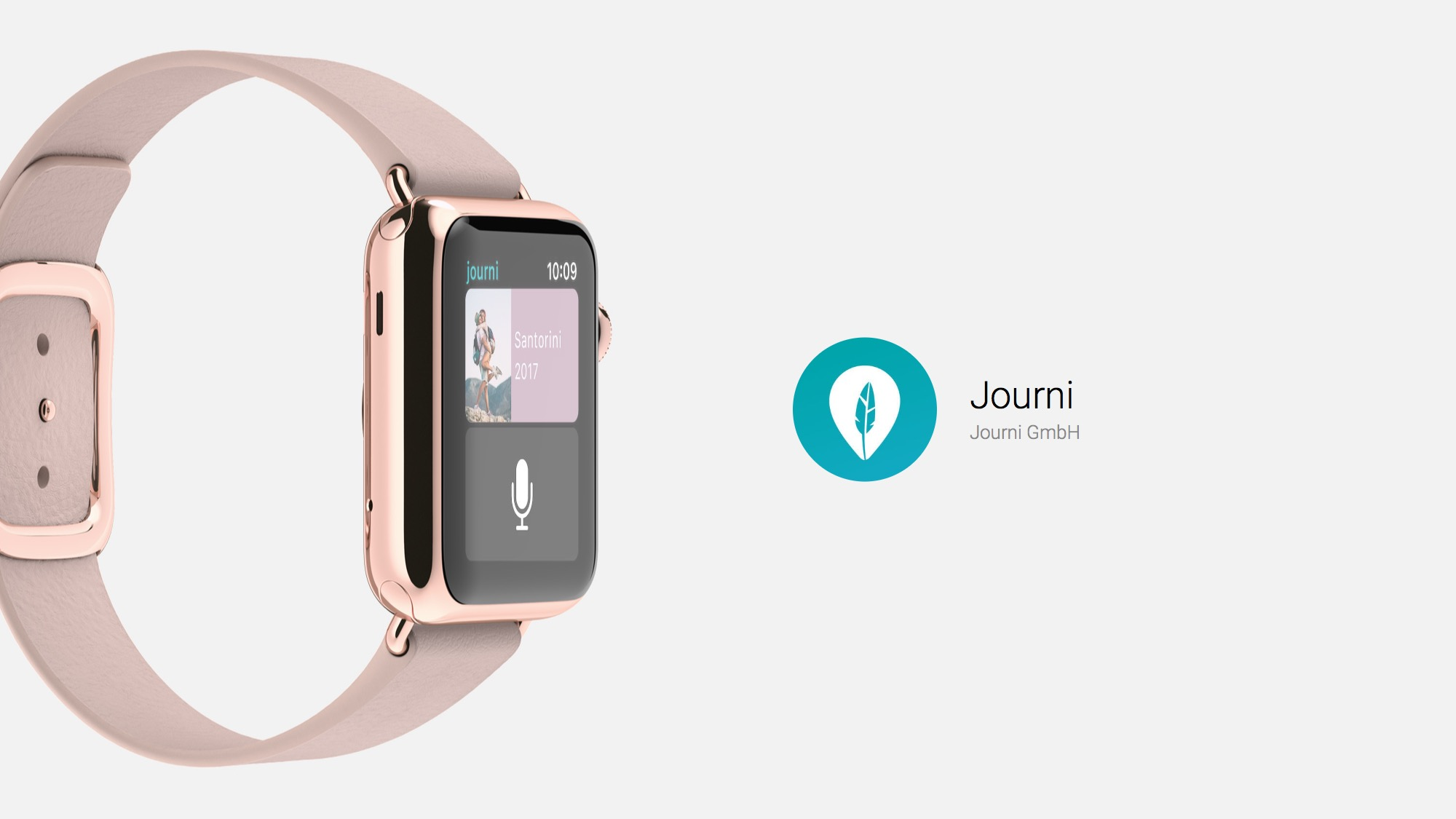Travel and Save the Memories on Apple Watch with journi