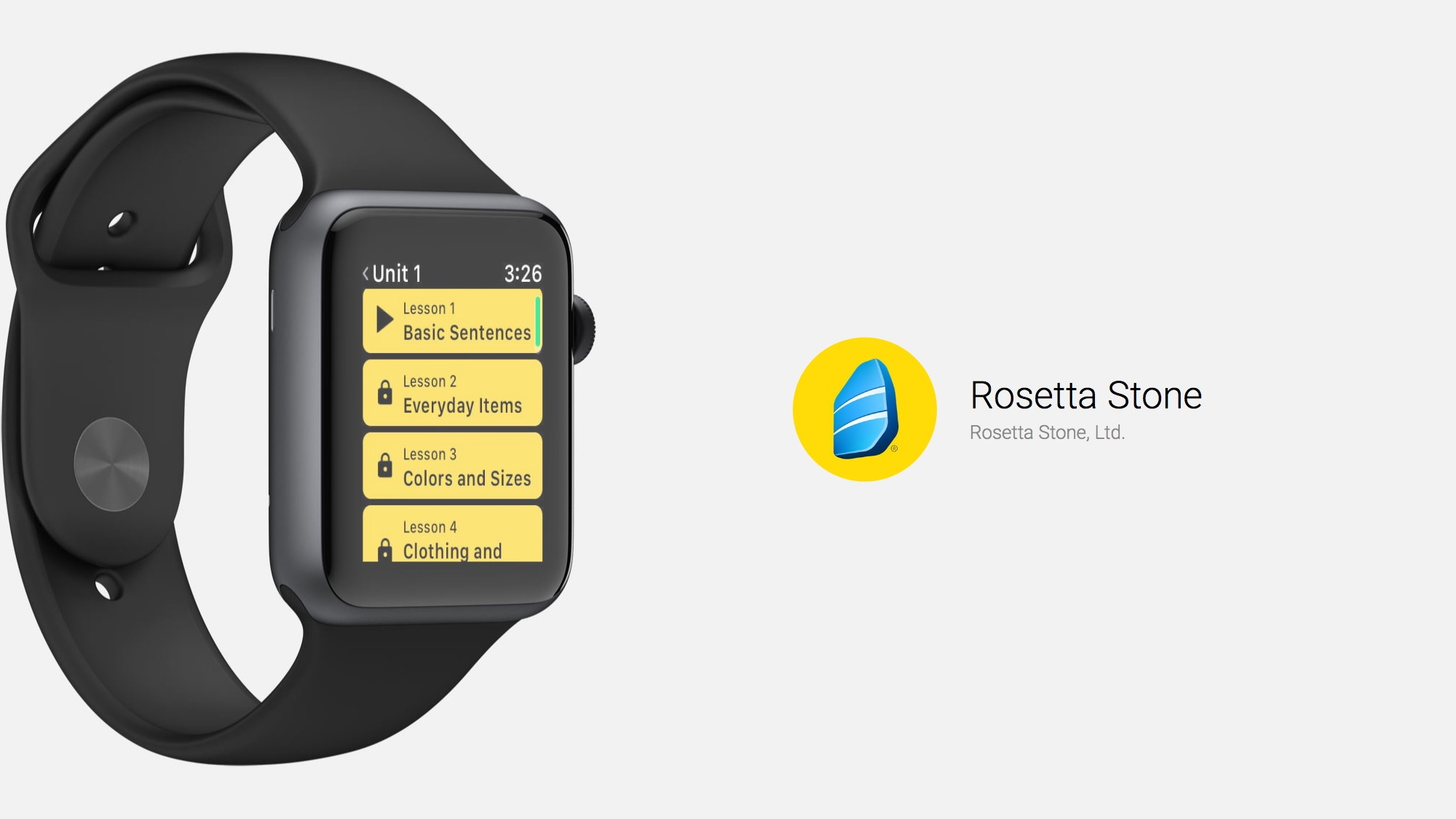 Rosetta Stone and Apple Watch Are a Great Match